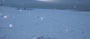 Neve spiaggia Mondragone