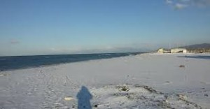 neve spaiggia castelvolturno