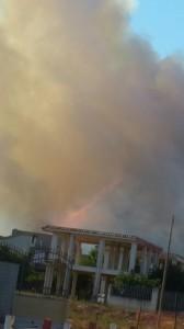 Incendio Mondragone 2