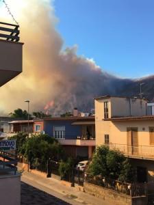 Incendio Mondragone 3