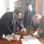 """Firmata convenzione Università """"L. Vanvitelli"""" – Consorzio Bonifica Sannio Alifano"""