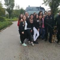 Al Liceo Don Gnocchi di Maddaloni le Unità cinofile dei Carabinieri