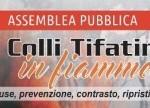 "A Caserta assemblea Pubblica sul tema ""I Colli Tifatini in fiamme"""