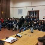 Protesta ad Alife contro la realizzazione di un impianto di trasformazione dei rifiuti organici
