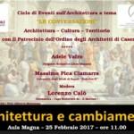 """Massimo Pica Ciamarra al Liceo Manzoni per """"Le Conversazioni – Architettura, Cultura e Territorio"""""""