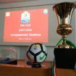 Sorteggiati gli accoppiamenti per la Tim Cup 2017-2018