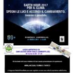"""Maratona Radiofonica di Radio PRIMARETE per """"Earth Hour 2017″"""