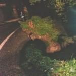 Smottamento sulla strada ex-ANAS 336 a Caiazzo