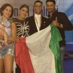 Danza sportiva: La coppia casertana Palmieri-Chianese campione d'Italia